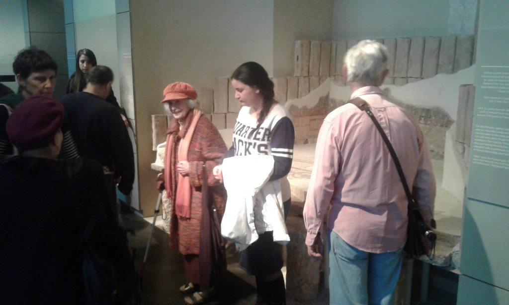סיור במוזיאון ישראל 22.2.2016